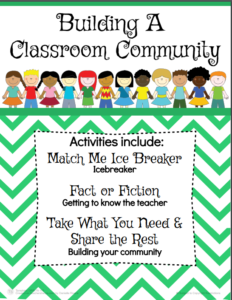 building classroom communities download