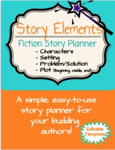 Story Element Freebie