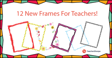 12 New Teacher Freebies