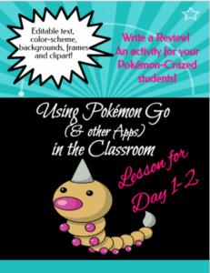 Pokemon Go for Back to School