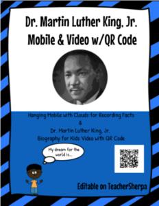 MLK mobile QR code