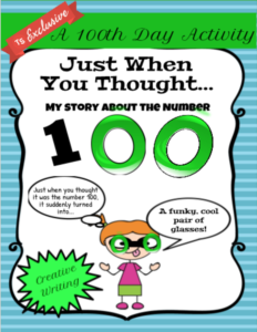 100th day freebies
