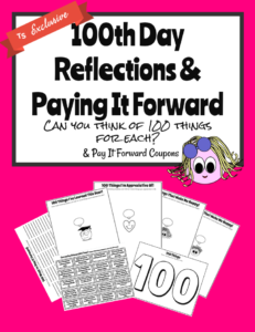 100th day pay it forward