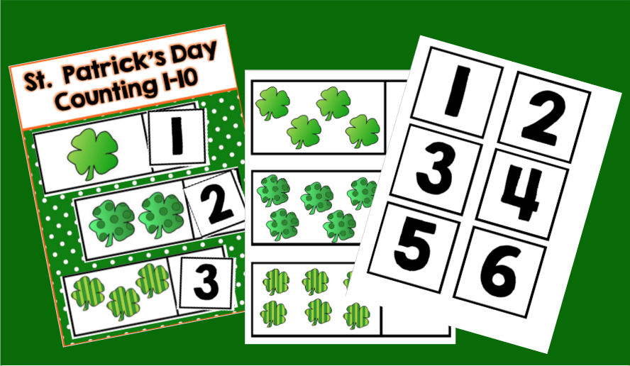 St. Patrick's Day Math Center