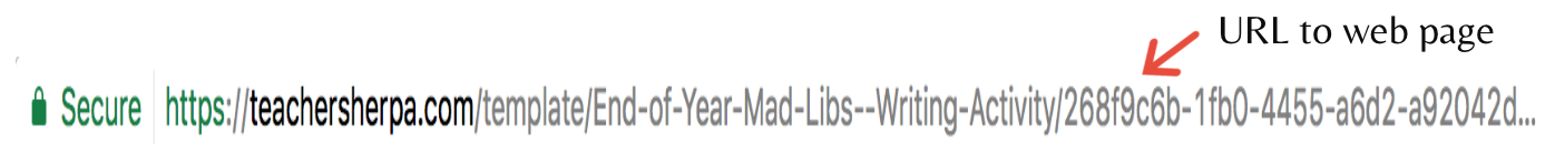 Mad Libs for Kids URL