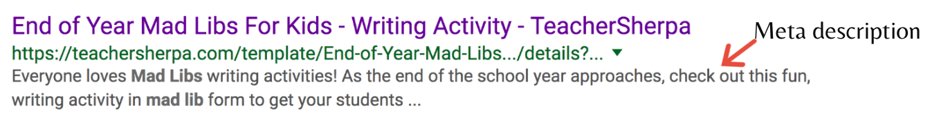 Mad Libs for Kids meta description
