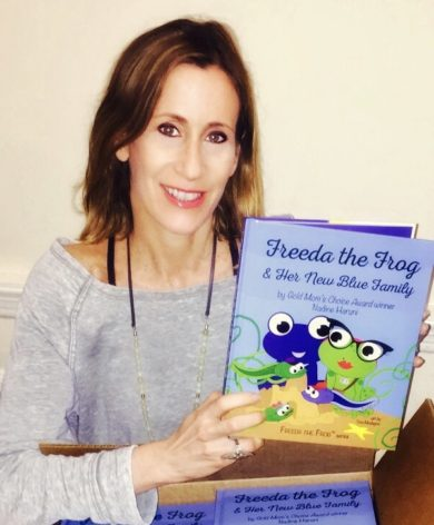 Nadine Haruni is the author of The Freeda The Frog™ Children's Book Series. These books are a great resource for teachers and parents as they help children dealing with difficult subjects to talk about.