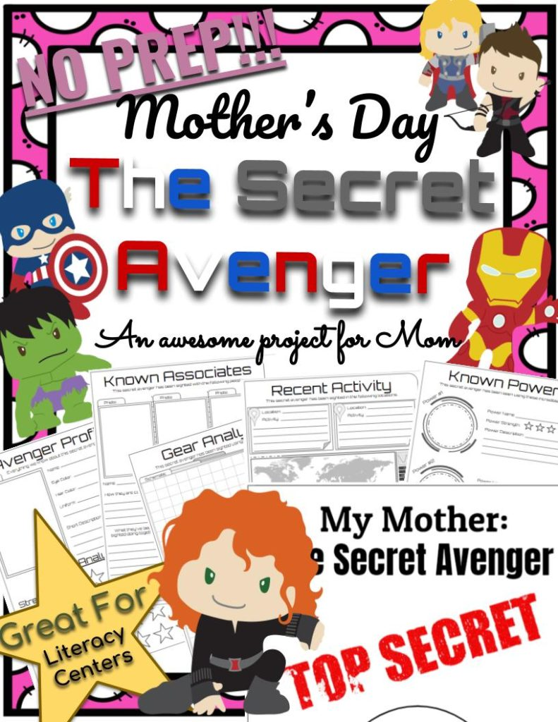 Mother's Day Resources Activities